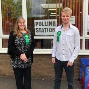 Candidates - Jane Weston and James Melling