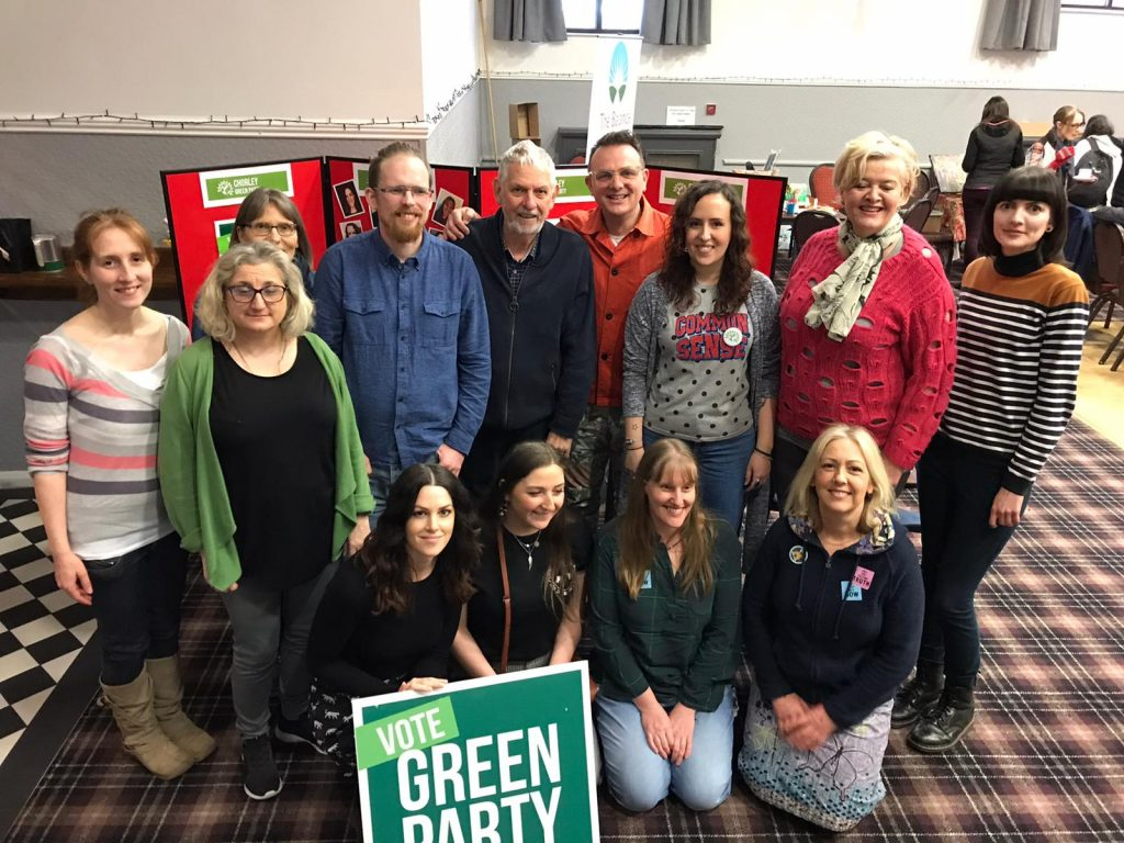 Chorley Green Party 2020 Candidates
